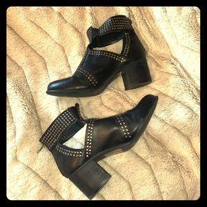 Torrid Black Stud Bootie Size 10.5 Wide